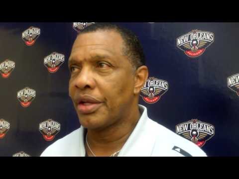 Alvin Gentry says a priority is improving their transition defense