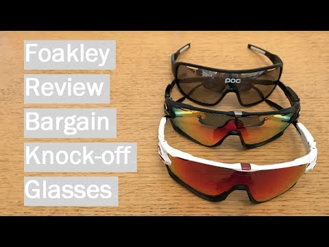 Fake Oakley Review & Comparison - Foakley and POCs