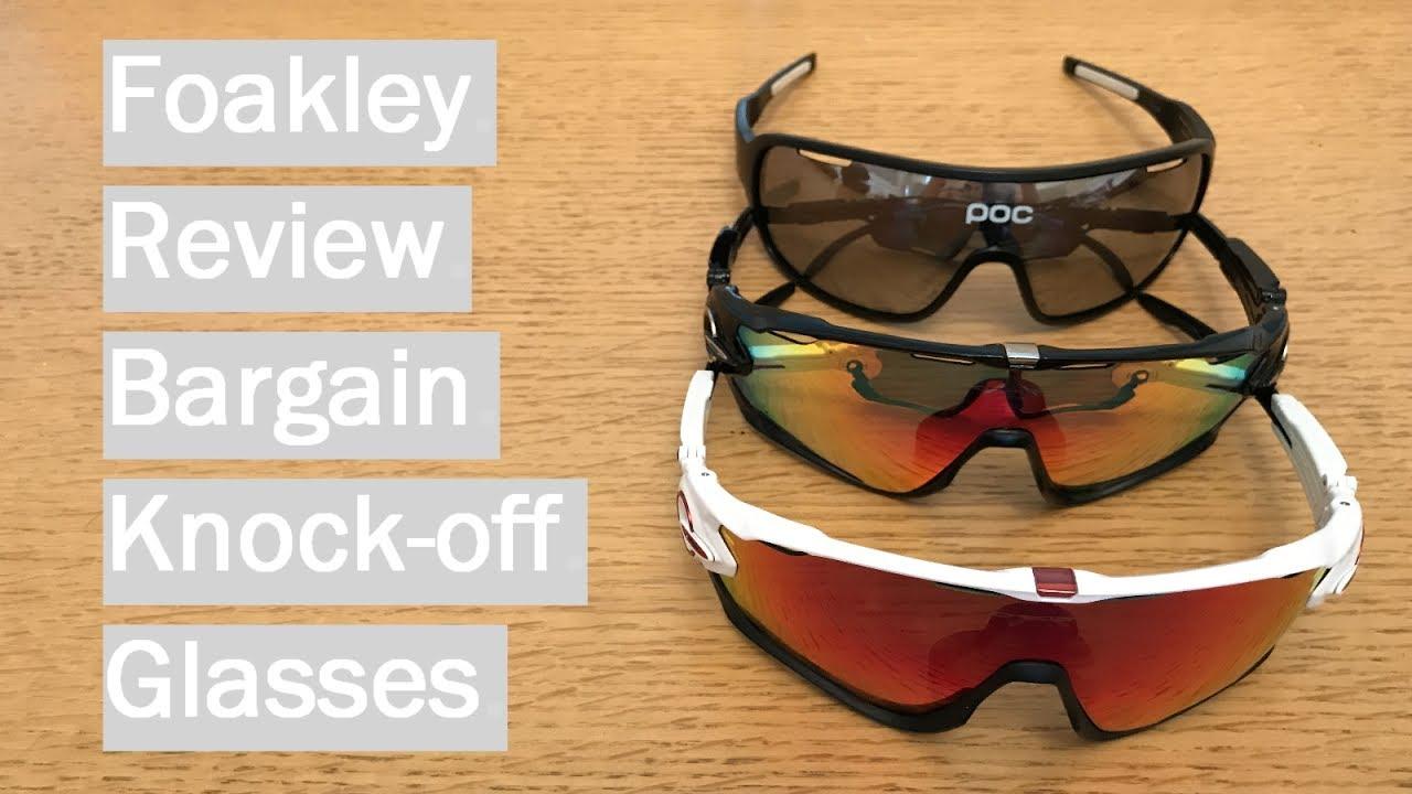 9e5689caefa11 Fake Oakley Review   Comparison - Foakley and POCs - YouTube