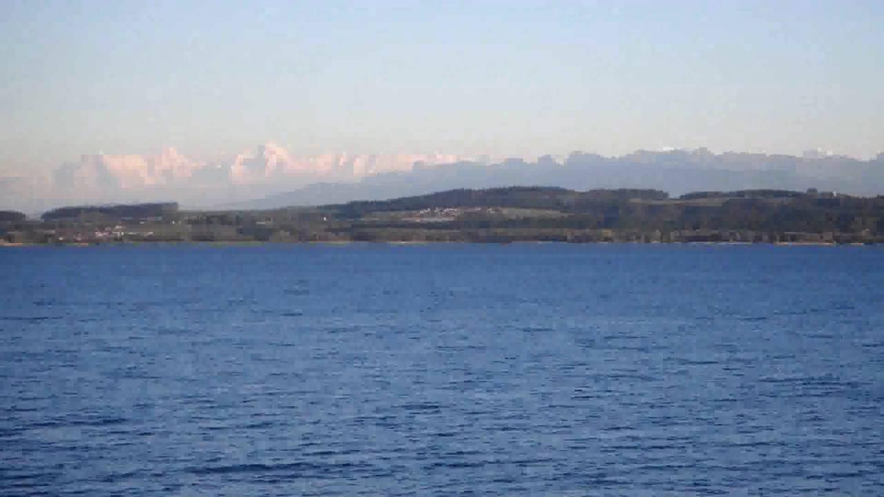Lake Neuchâtel Panorama Lac Neuchâtel Youtube