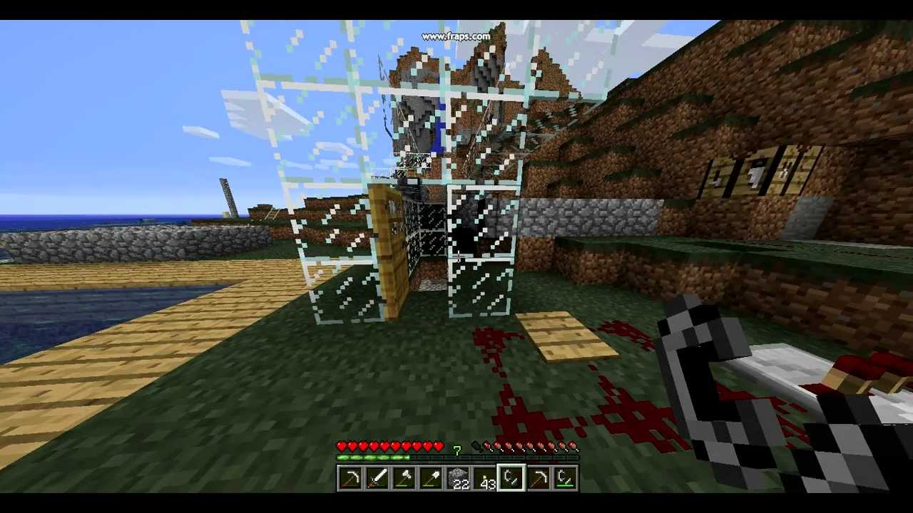 How to make a lighter in Minecraft