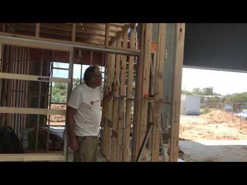 how to install a cavity slider door