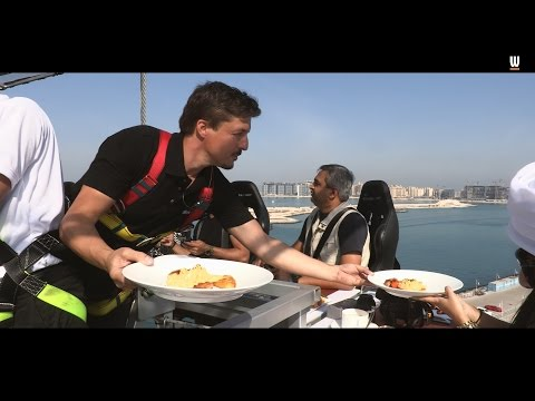 What's On tries Dinner in the Sky in Dubai