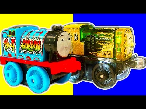 Thomas MINIS 2016 Wave 1 Blind Bag 1 to 19 Train Crashes Toy Review Fun & Fail