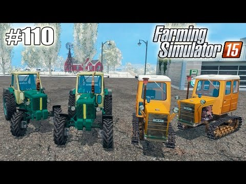 Farming Simulator 15 моды: Трактор «ЮМЗ-6Л» и Т-54В (110 серия)