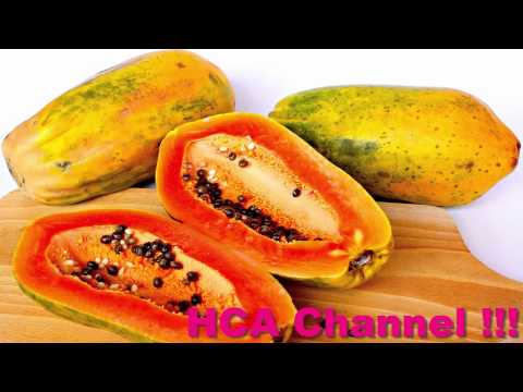 Licuados de Papaya  Para Limpiar el Colon