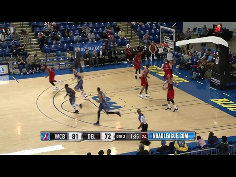 Highlights: Tiago Splitter Returns to Action With Delaware 87ers