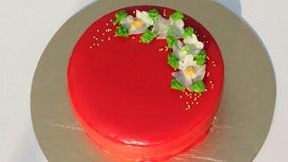 মিরর কেক/আয়না কেক/কেক রেসিপি/How To Make Mirror Glaze Cake/Mirror Glaze Cake/Cake Recipe/Farjana