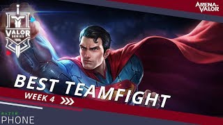Best Teamfight for Week 4 | Valor Series [EU] - Arena of Valor