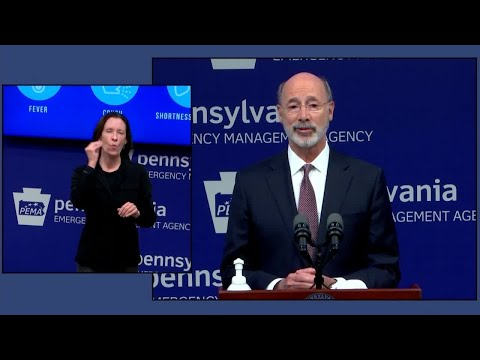 Pennsylvania Governor Releases More Details On Plans For Phased Reopening