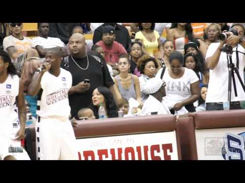 Kevin Hart acts a fool at Luda Day Celebrity game 2012