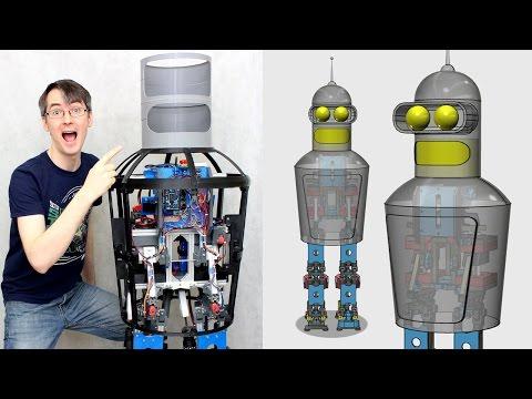 Building Robot X #7 Futurama Bender | XRobots