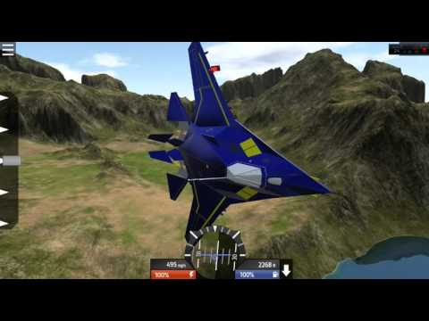 TESTING F-117  