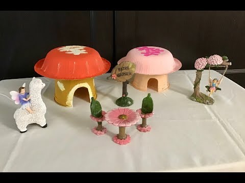 How to make a Fairy House | Easy DIY | Craft Idea for Kids Tutorial