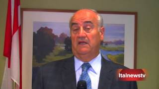 Vaughan business round table with Minister Fantino and Sorenson