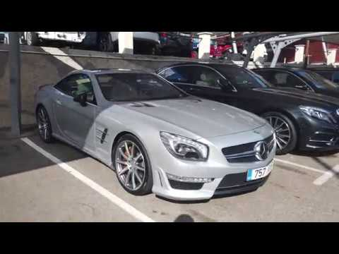 Is Mercedes SL65 AMG V12 BiTurbo The Best Car For Southern France And The Riviera? [4k 60p]