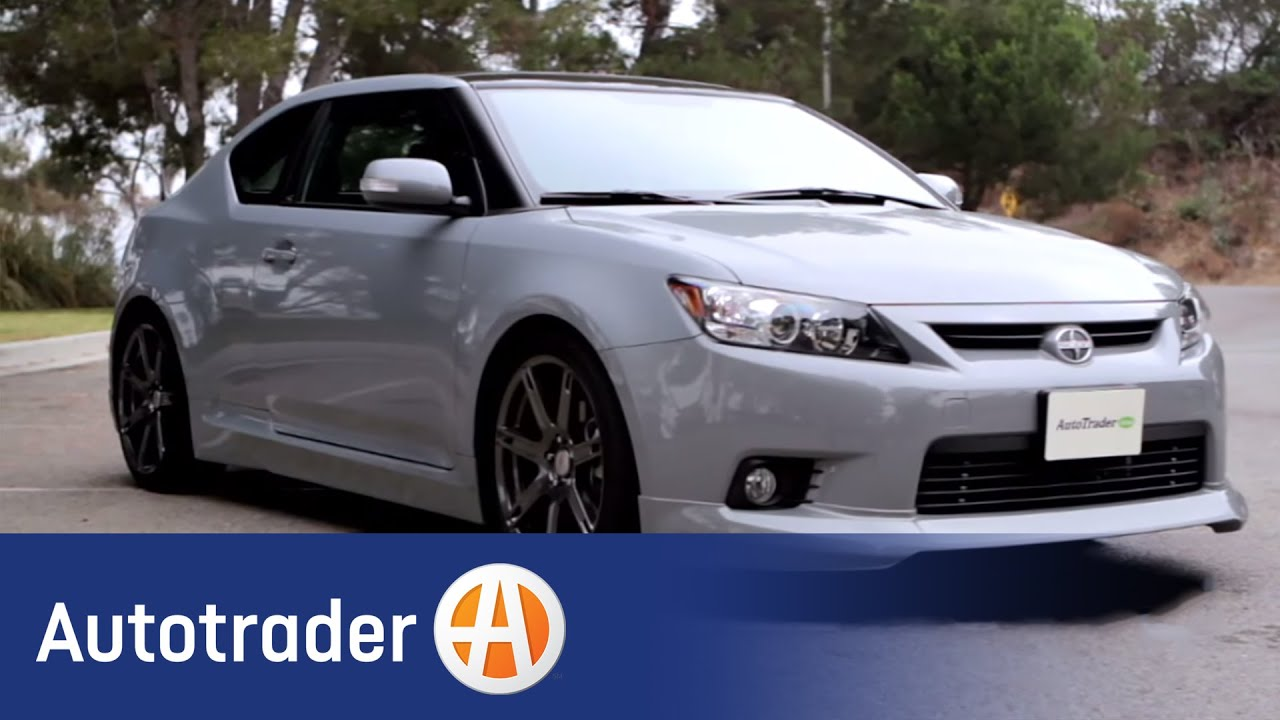 2012 scion tc coupe new car review autotrader youtube. Black Bedroom Furniture Sets. Home Design Ideas