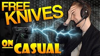 cs go giving away free knives on casual