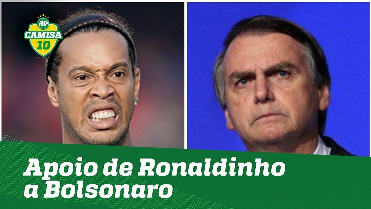 Ronaldinho apoiou Bolsonaro e... OLHA o que pode sofrer!