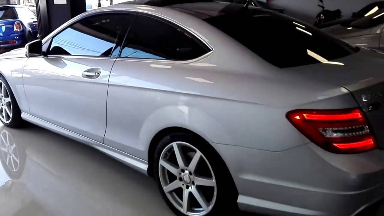 mercedes benz c250 coupe 2013 youtube. Black Bedroom Furniture Sets. Home Design Ideas