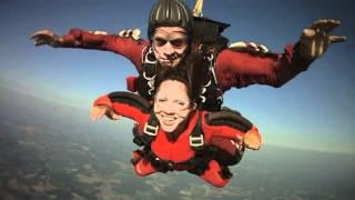 Jana Harris and Rebecca Beach Skydive