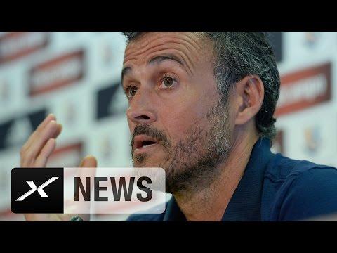 Claudio Bravo zu Pep Guardiola? Luis Enrique weicht aus | FC Barcelona - Real Betis 6:2