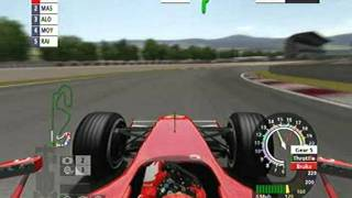 gameplay de formula 1 2006 demo