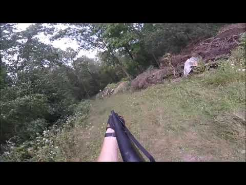 12ga Churchill Pump Shotgun One Handed 2017
