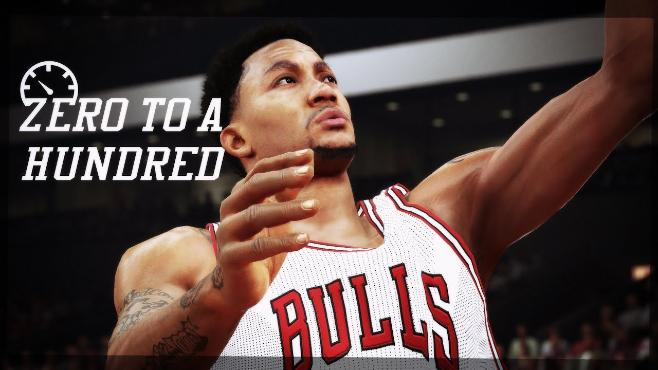 58a242487ccc Zero to a Hundred - NBA 2K15 Montage  Derrick Rose - YouTube
