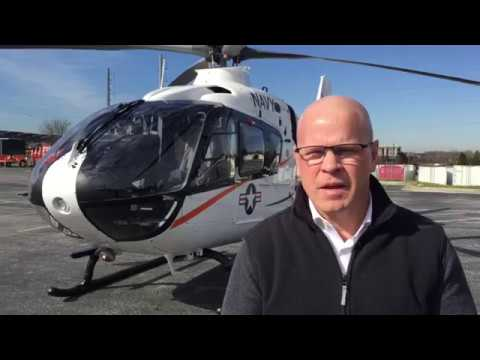 Airbus Helicopters Showcases The H135 As Future US Navy Helicopter Trainer At Heli Expo 2019