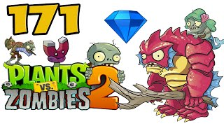 ч.171 Plants vs. Zombies 2 - Big Wave Beach - Day 32 Boss