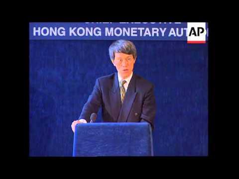 UK: HONG KONG MONETARY AUTHORITY CHIEF JOSEPH YAM SPEECH