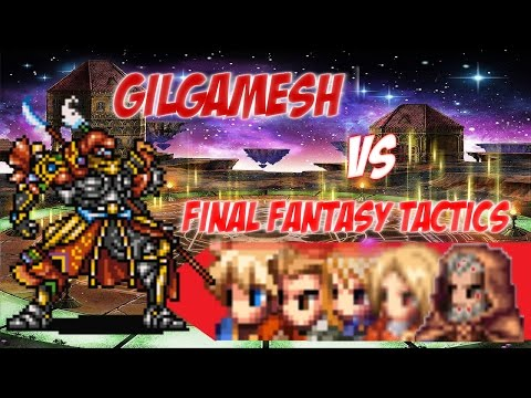 Brave Exvius Global - Gilgamesh Challenge I - Final Fantasy Tactics