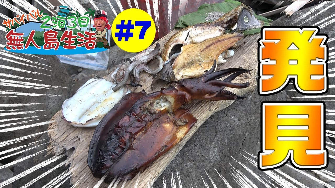 【無人島生活】2泊3日釣った魚で生き延びろ2021 #7