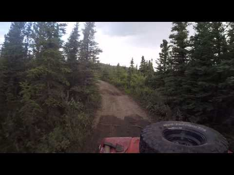 CoalMine Rd (Alaska) In My 1969 LandRover Series Lla Part 2