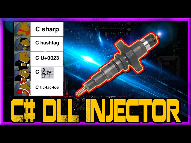 C# DLL Injector Tutorial   C# How To Inject a DLL