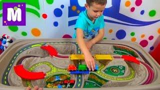 Cтол - трек Дорога над Каньоном Степ2 распаковка детского стола игрушки Step 2 table