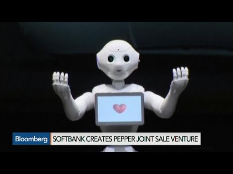 SoftBank's Pepper Robot Goes on Sale to Consumers June 20