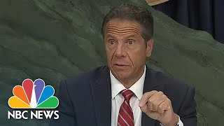 Cuomo Announces N.Y. Schools Reopening Plan, Emphasizes State's Legal Authority | NBC News NOW