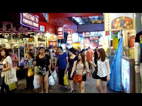 Outdoor Market in Singapore