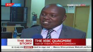 IEBC Chair Wafula Chebukati locks three commissioners out of office | The Big Story