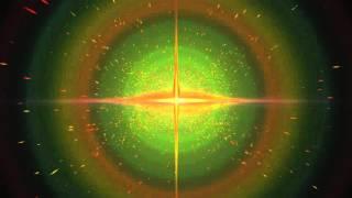 8K Animation UHD Green Galaxy Star Space 4320p Remake Travel