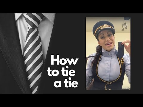How To Tie a Tie: