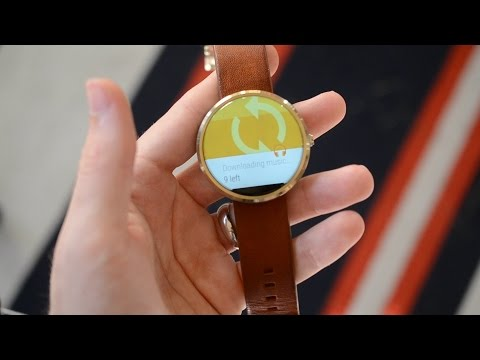 How to: Put music on your Moto 360 and pair with Jaybird X2 Bluetooth Earbuds