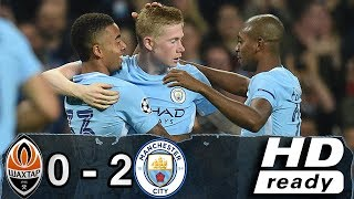 shakhtar donetsk vs manchester city 0-2 Resumen Goles Highlights Goals 26/09/2017
