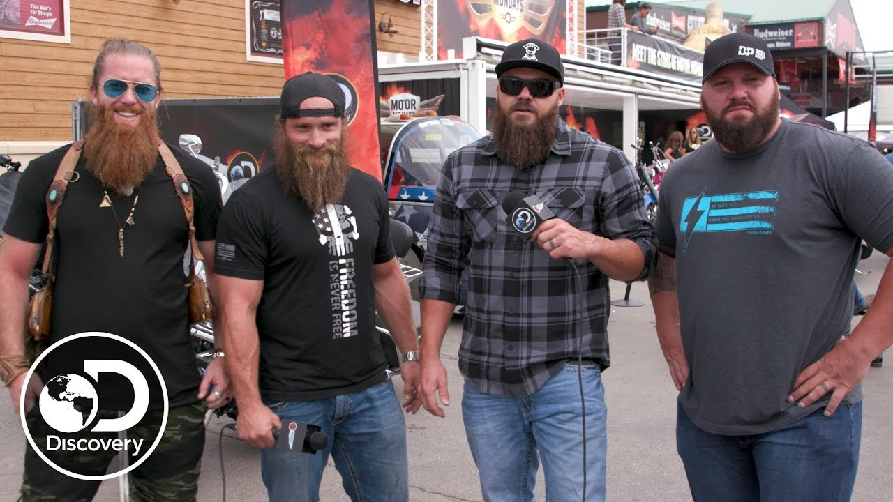 Diesel Brothers Cast >> The Sturgis Beard Off Diesel Brothers Youtube