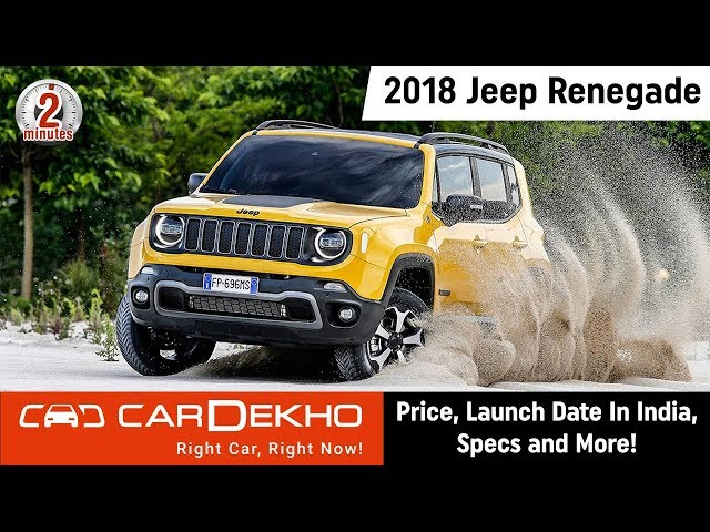 Jeep Renegade Price In India Launch Date Images Spec Colours