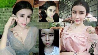 Repeat youtube video Teenage girl 'who underwent plastic surgery to win back ex-boyfriend' becomes internet phenomenon