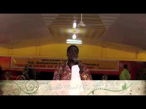 Apostle Paul Oko Hackman    Medawase