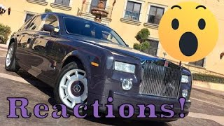 How people REACT to a Rolls Royce Phantom